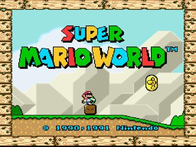 Super Mario World Christmas.Classic Video Game Monday Super Mario World Clockwork Hare