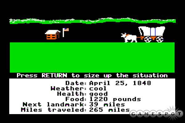 Classic Video Game Monday The Oregon Trail Clockwork Hare